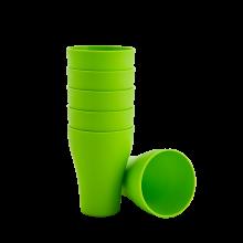 Комплект чашки 6бр.x 0,075 олива