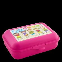 Кутия за сандвичи Smile розова