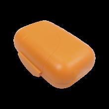 Сапунерка с капак оранж