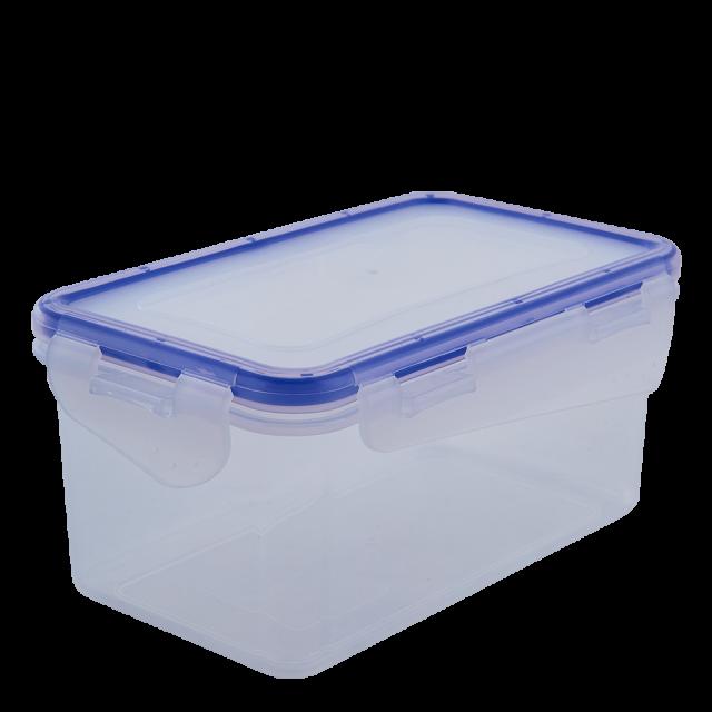 Кутия за хранителни продукти със закопчаване, правоъгълна 2,5 л