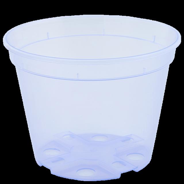 Саксия дренажна 18,0х13,5см, прозрачна