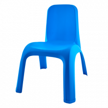Детско столче синьо