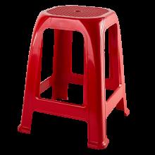 Пластмасова табуретка ПИФ червена