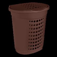 Кош за пране 60 л кафяв