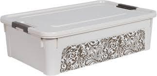 Контейнер Smart Box с декор Home 14л