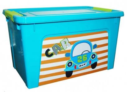 Контейнер пластмасов Smart Box с декор My Car  3,5л.