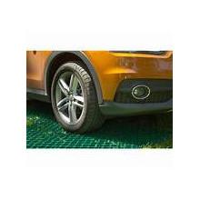 Модулна решетка за паркинг зелена