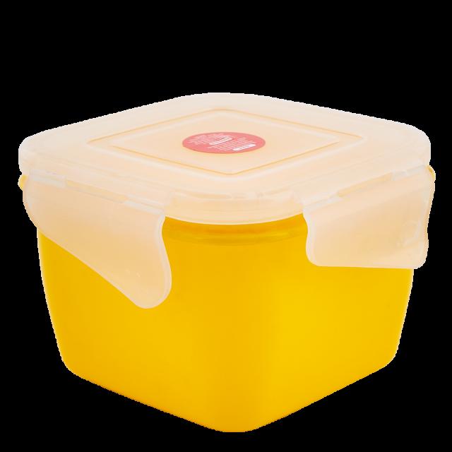 Кутия универсална Фиеста квадратна 0,9л със закопчаване