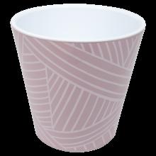 Саксия ДЕКО с двойно дъно и декор 13,0х12,5 см Etno loft фрезия
