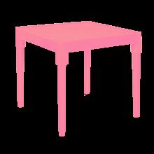 Детска маса тъмно розова