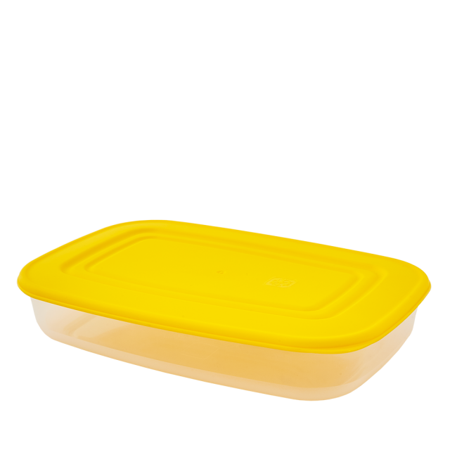 Кутия за хранителни продукти, правоъгълна, 2,5 л