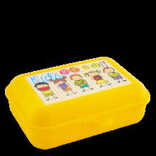 Кутия за сандвичи Smile жълта