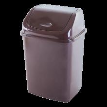 Кош за отпадъци 18 литра кафяв
