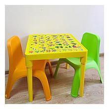 Детска маса АНГЛИЙСКА АЗБУКА и детско столче