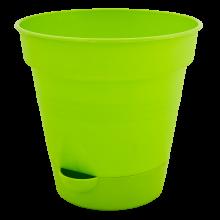 Саксия ГЛОРИЯ с полив 12см зелена
