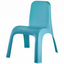 Детски стол гълъбово син