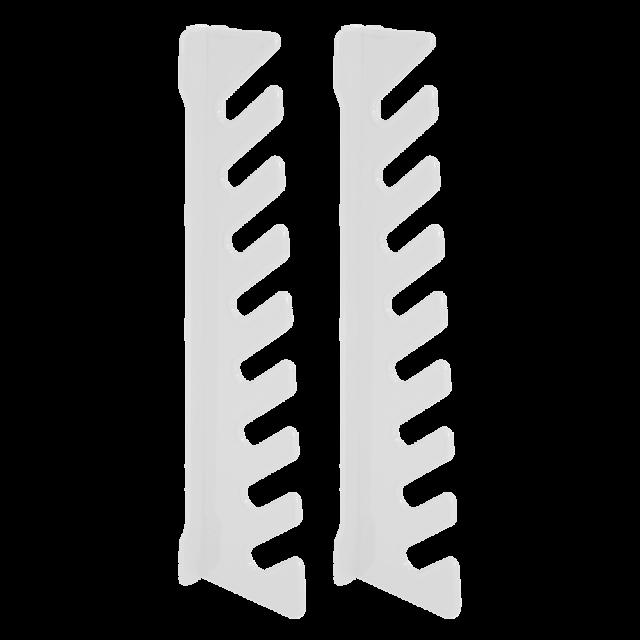 Стойка за ключове 20,0 х 2,5 х 5,2 см - 2 бр.