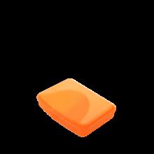 Контейнер универсален M оранж прозрачен