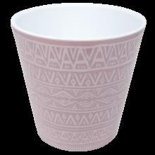 Саксия ДЕКО с двойно дъно и декор 16,0х15,5 см Etno ornament фрезия