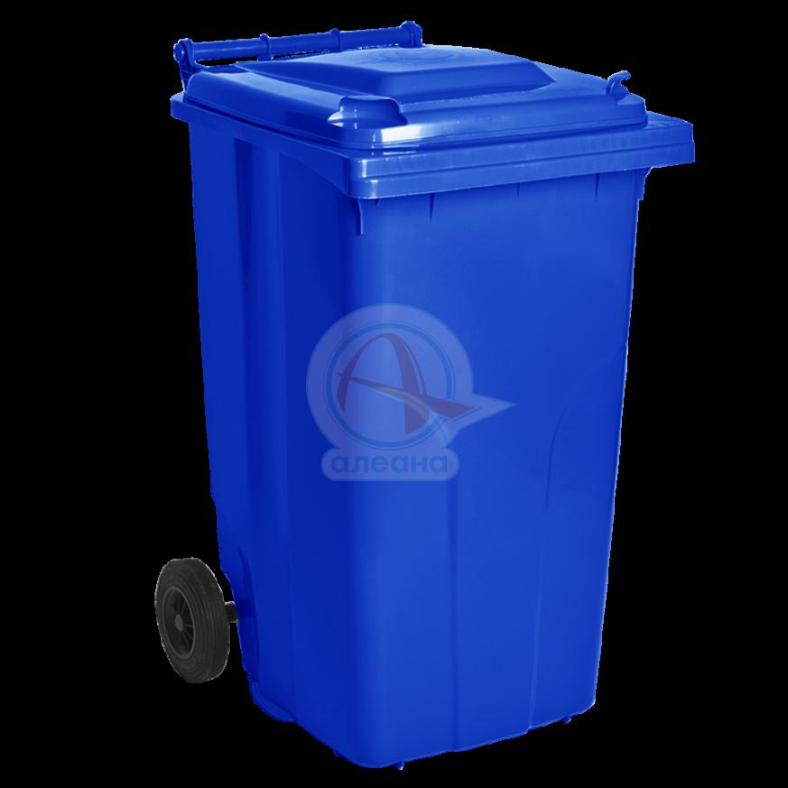 Контейнер за битови отпадъци 240 л син