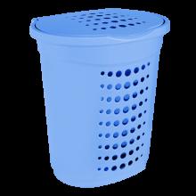 Кош за пране 60 л св.син