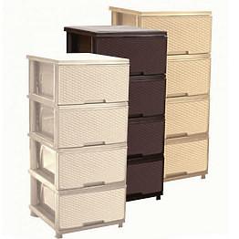Шкаф с четири чекмеджета РАТАН
