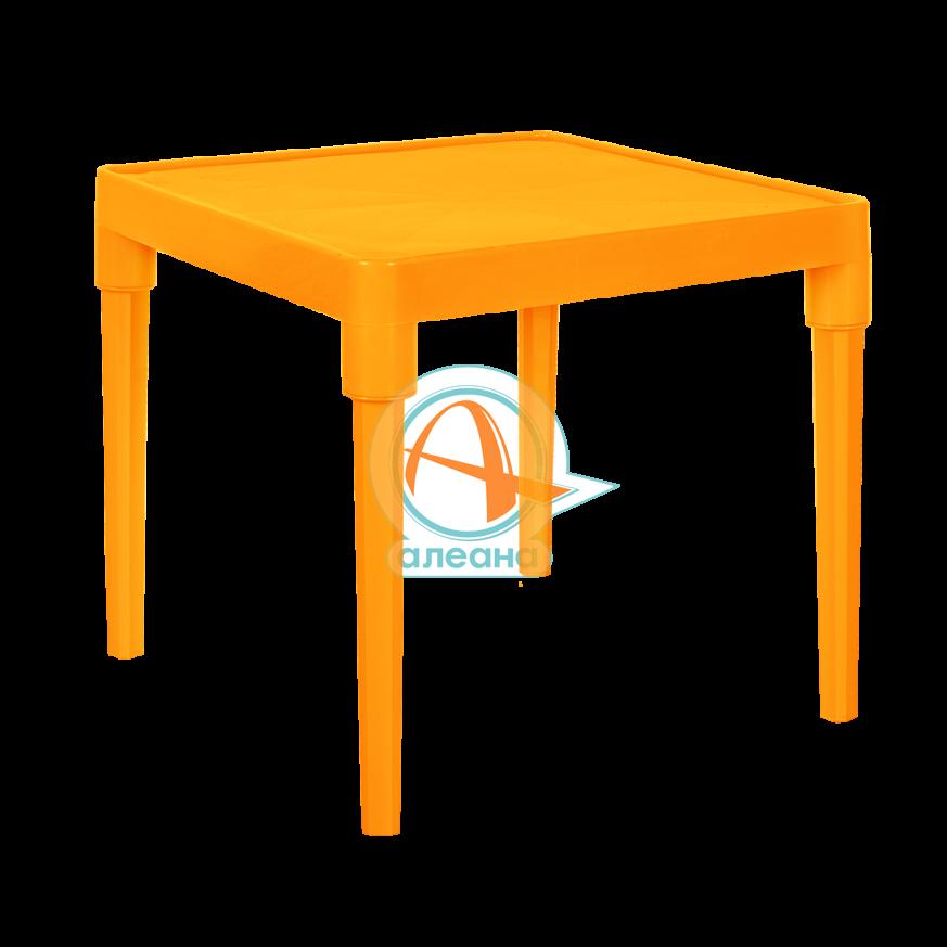 Детска маса оранж