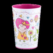 Чаша с декор 0,4 л MAGIC т.розова