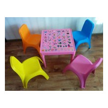 Детска маса АНГЛИЙСКА АЗБУКА и столчета