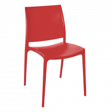 Стол Ема червен