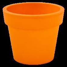 Саксия ГАМА 14х12см оранж