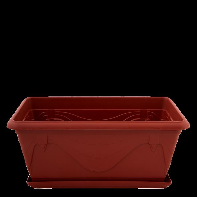Сандъче ПЕТУНИЯ с подложка 40,6х21,8 см