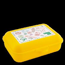 Кутия за сандвичи Lunch жълта