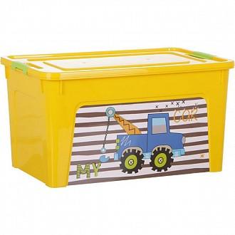 Кутия Smart Box с декор My Car 27л